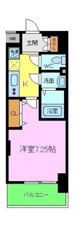 Luxeなかもず 間取り